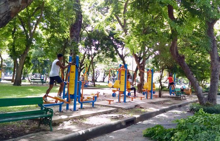 Bangkok outdoor fitness